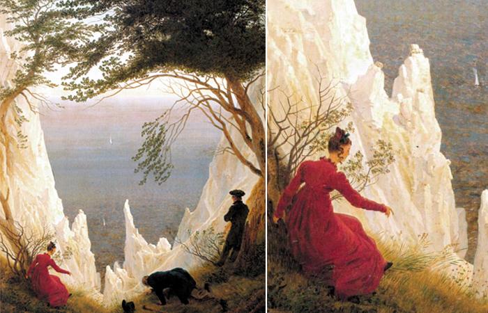 «Меловые скалы на острове Рюген»