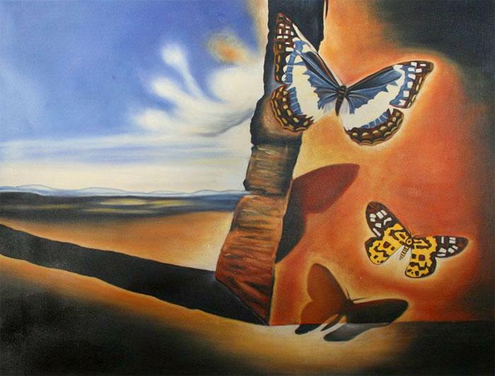 """""""Пейзаж с бабочками"""""""
