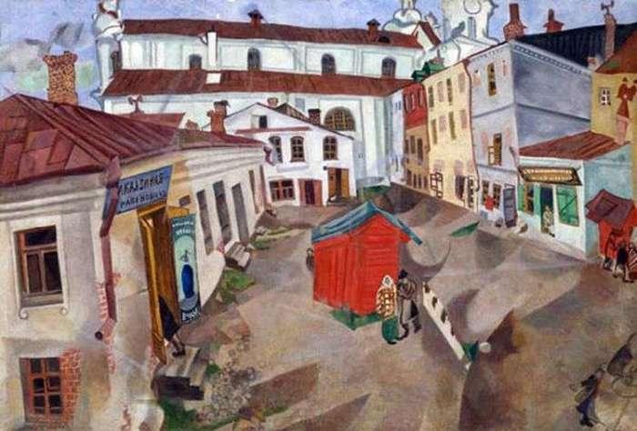 «Витебск, рыночная площадь»