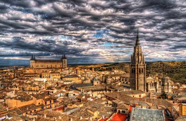 Город Толедо - одна из визитных карточек Испании