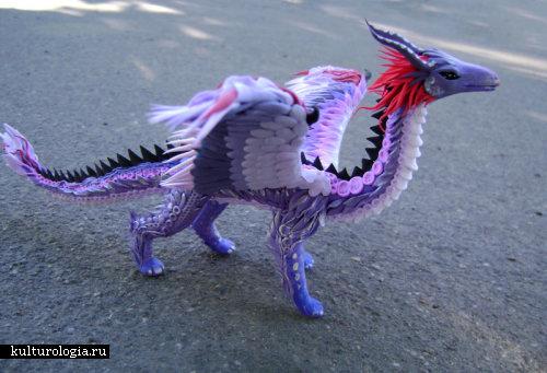 Узорный дракон Людвиг