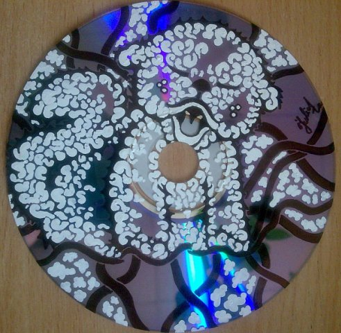 Рисунки на CD, DVD-дисках