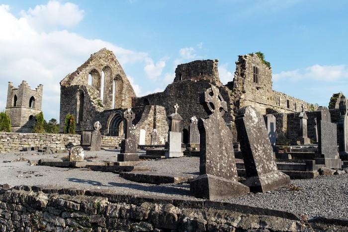 Маленькая ирландская деревушка с кельтским наследием