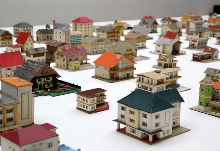 Макет города из бумаги своими руками 61
