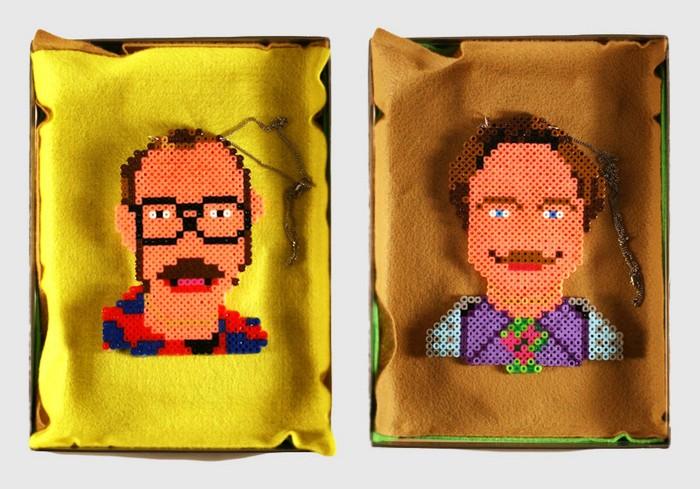 Поп-арт-сумочки из бисера от 3PTPOP