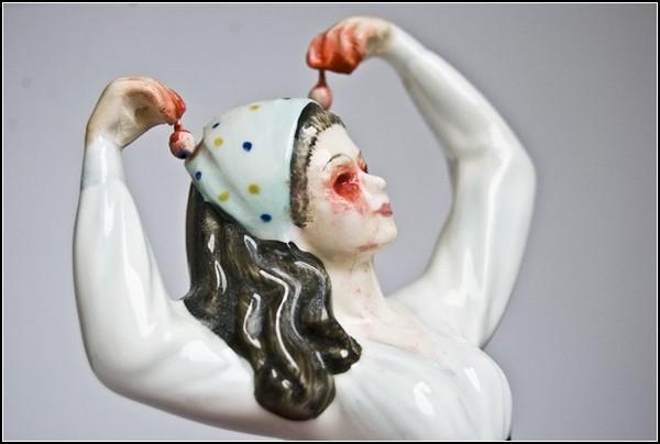 Викторианские фарфоровые девушки без головы