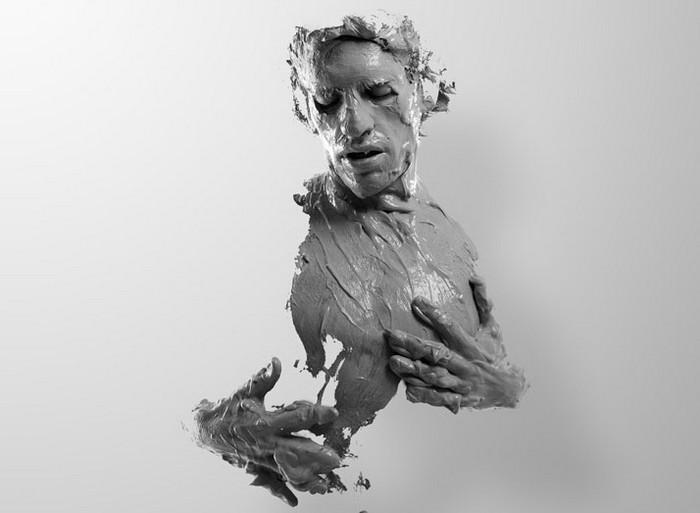 EL HOMBRE QUE SE CREA – скульптурно-фотографический проект от Алехандро Маэстре (Alejandro Maestre) и Хулиана Кьяновас-Яньеса (Julian Canovas-Yanez)