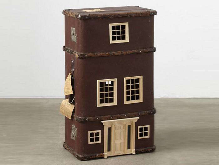Дом с ручкой: необычные чемоданы от Бо Христиана Ларссона (Bo Christian Larsson)