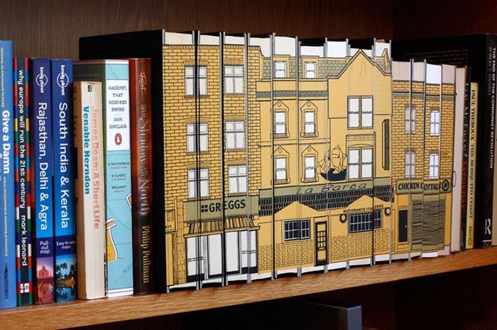 The Soft City — городские кварталы на книжных полках. Библиотечное творчество Дениела Стрейта (Daniel Speight)