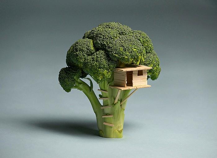 Удивительная еда в работах Брука Дэвиса (Brock Davis)