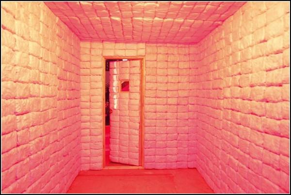 Комната из сладкой ваты. Съедобная инсталляция Дженнифер Рубелль (Jennifer Rubell)