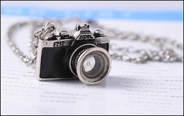 Ожерелье-фотокамера