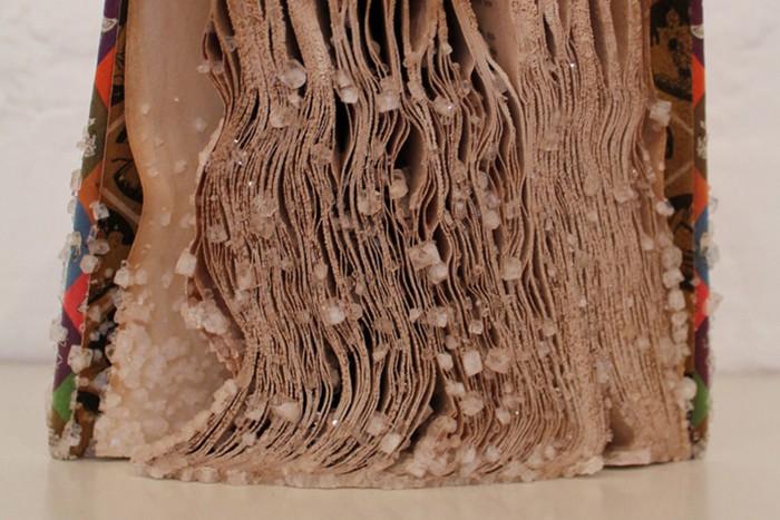 Crystalized Books: книги как кристаллы. Странные работы от Алексис Арнольд (Alexis Arnold)