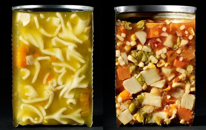 Cut Food – еда изнутри в фотопроекте от Бэт Гелтон (Beth Galton)