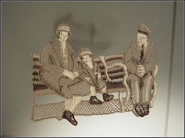 В'язані скульптури від Дорі Міллерсон