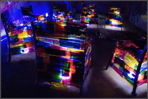 Habitando: световой проект от Луизы Альварес (Luisa Alvarez)