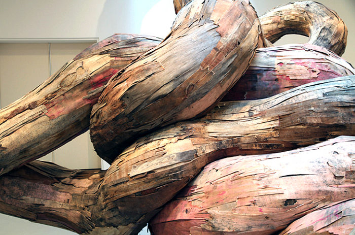 Инсталляция Tridimensional от Энрике Оливейры (Henrique Oliveira)