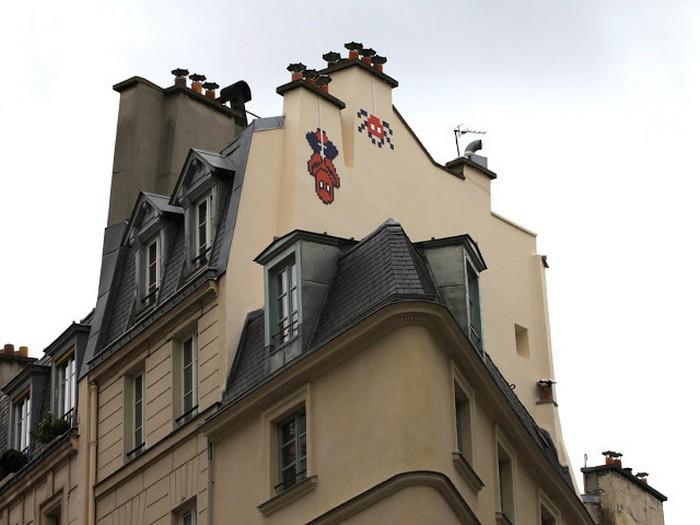 Вторжение Космического Захватчика в Париж