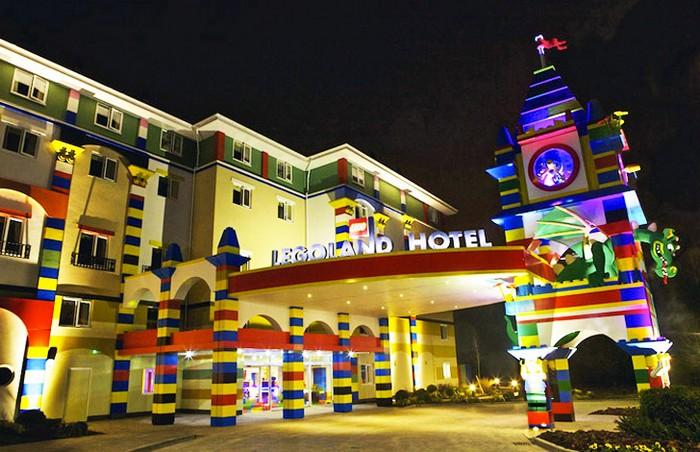 Legoland Hotel – гостиница в стиле известного детского конструктора