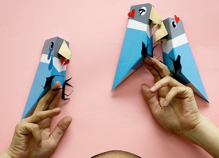Неординарные бумажные поделки от Линуса Хуи (Linus Hui)