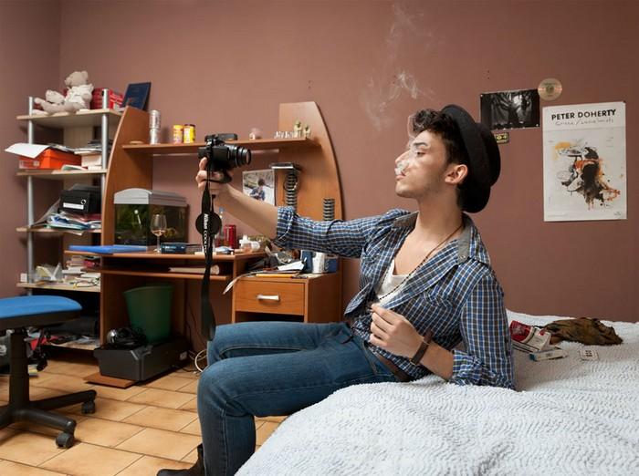 Как делается Интернет. Серия фотографий «Boyz and Girlz du net» от Метью Грака (Mathieu Grac)