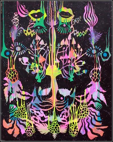 Психоделические граффити от Майи Гаюк (Maya Hayuk)