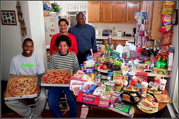 США. Семья Ревис, Северная Каролина. Затраты $341.98