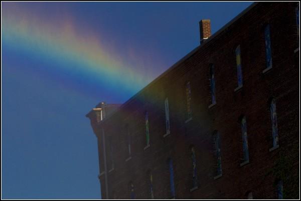 Искусственная радуга на радость жителям Небраски