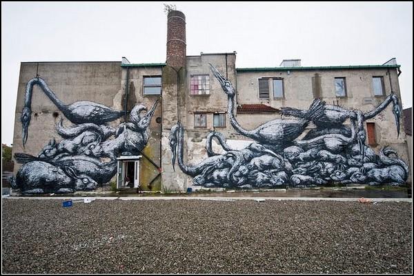 NUART – круглогодичный фестиваль уличного искусства в Норвегии