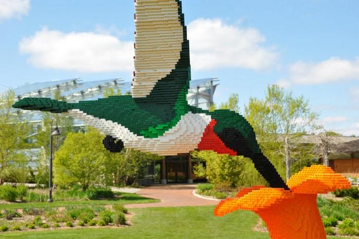 LEGO – больше, чем жизнь. Игрушечный зоопарк от Шона Кенни (Sean Kenney)