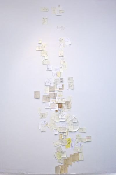 Рисованная от руки карта Манхеттена, созданная Нобутакой Аозаки (Nobutaka Aozaki) и сотней случайных прохожих