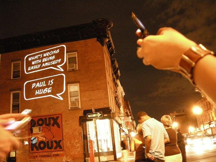 TXTual Healing – интерактивная световая инсталляция от Пола Нотзольда (Paul Notzold)