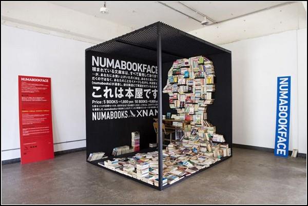 Книжное лицо Numabookface