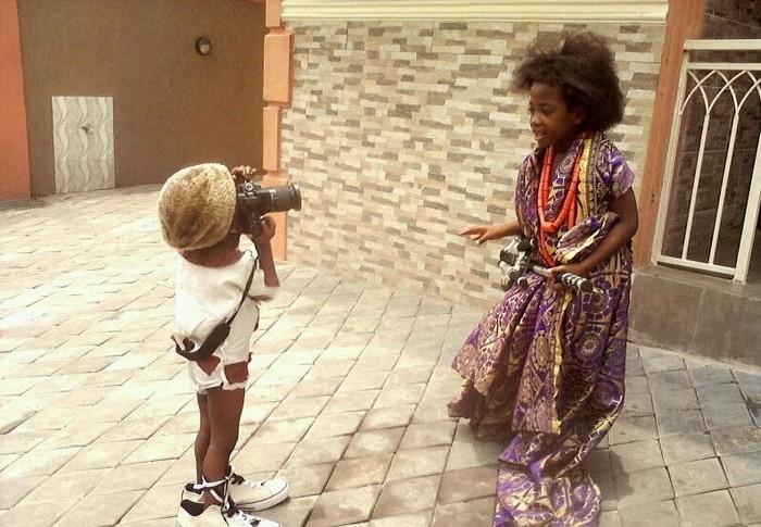 Онафуджири Ремет (Onafujiri Remet) – самый юный в мире профессиональный фотограф