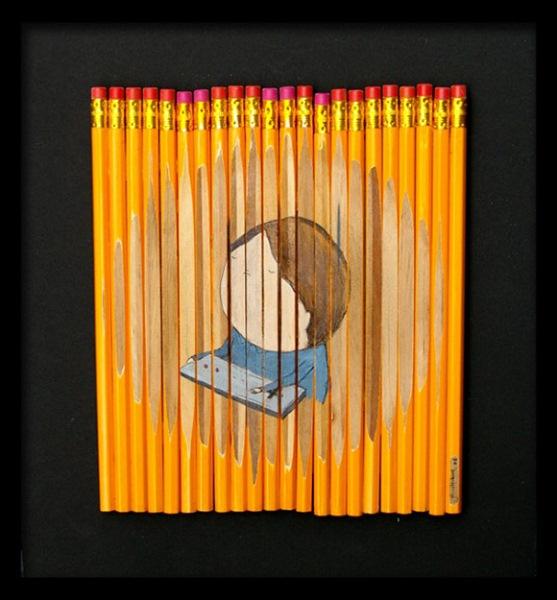Рисунки на карандашах от Ghostpatrol