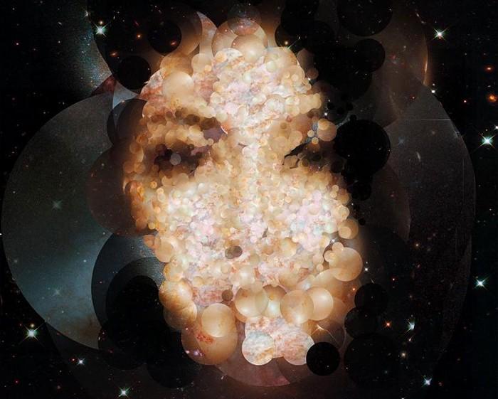 Stardust. Портреты из снимков телескопа Хаббл. Проект от художника Серхио Альбиака (Sergio Albiac)
