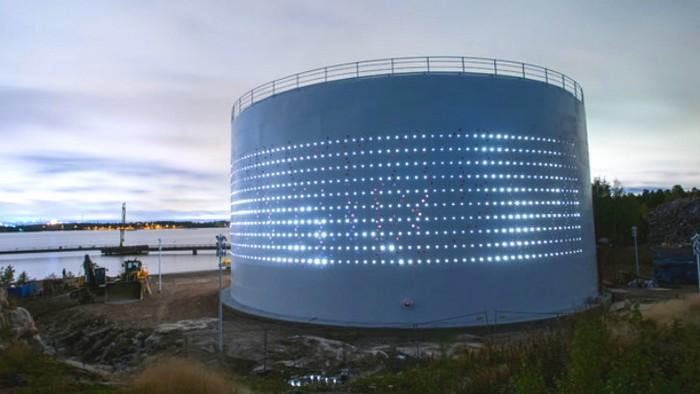 Silo 468 – арт-маяк в Хельсинки