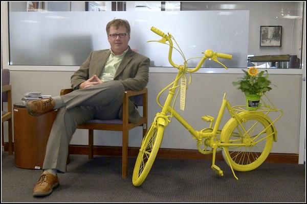 The Good Bike Project – самые необычные цветники на городских улицах