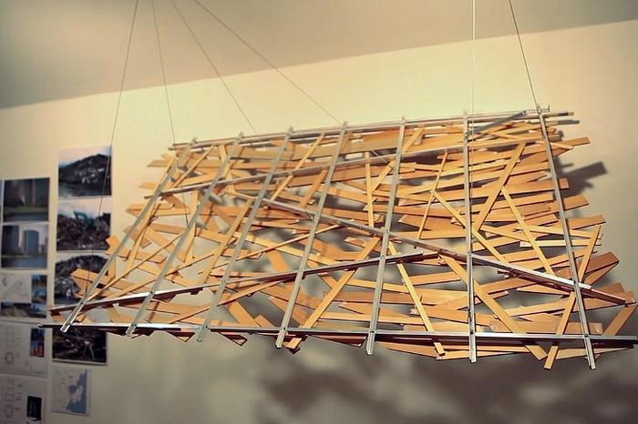 Мусорные инсталляции Under the Water от Тадаши Каваматы (Tadashi Kawamata)