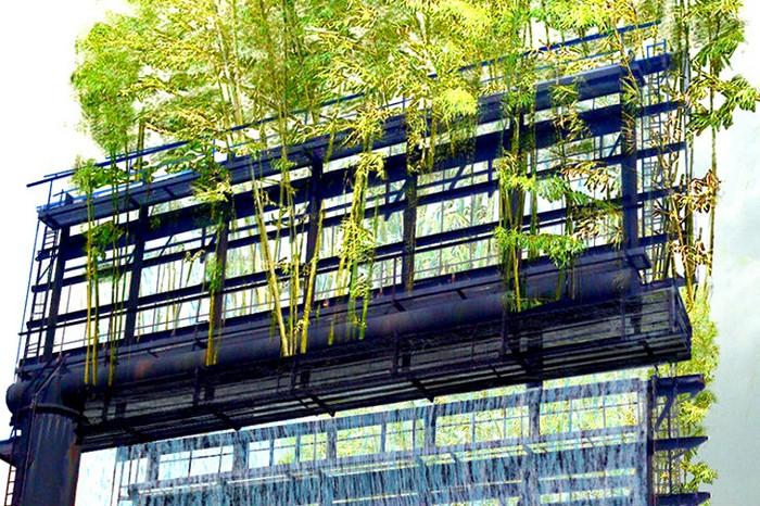 Urban Air — самые зеленые в мире рекламные щиты