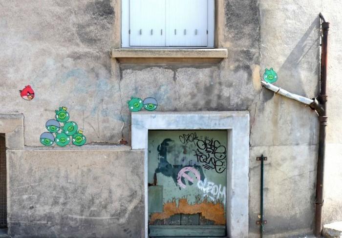 Красота в городских недостатках. Уличные работы от OakOak