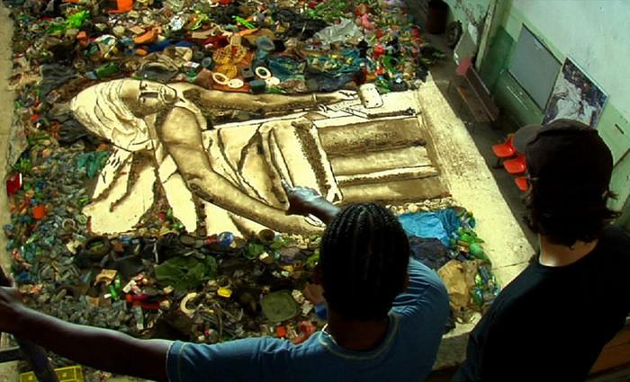 Мусорные картины «WASTE LAND» от бразильского художника Вика Муниса (Vik Muniz)