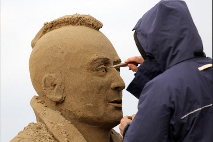 Weston Sand Sculpture Festival – кинематографический фестиваль песочных скульптур