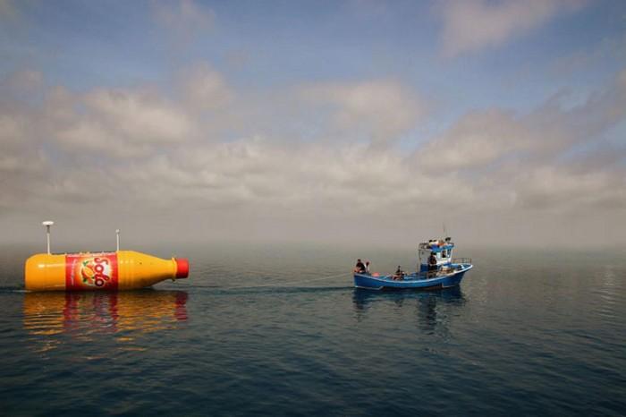 Ringnes – самая большая бутылка в океане
