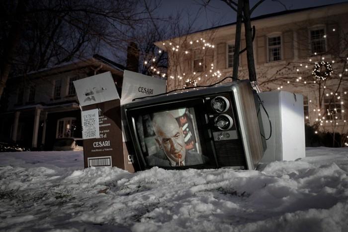 Abandoned Televisions: как умирают телевизоры