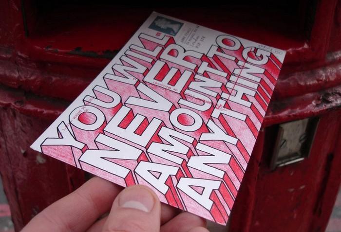 Hate Mail – открытки ненависти от Mr. Bingo