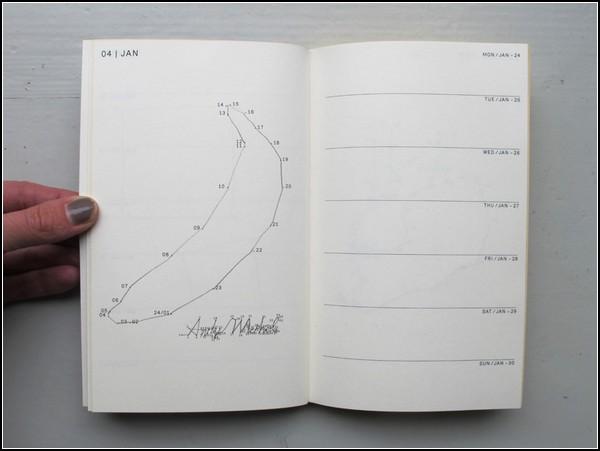 Ежедневник Agenda-2011 для любителей порисовать