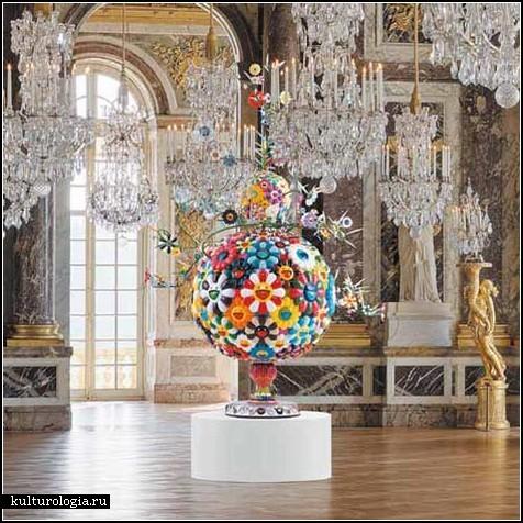 Элегантные работы Такаси Мураками в элегантном Версале