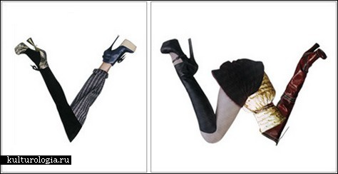 Fashion Font – азбука моды от Yvette Yang