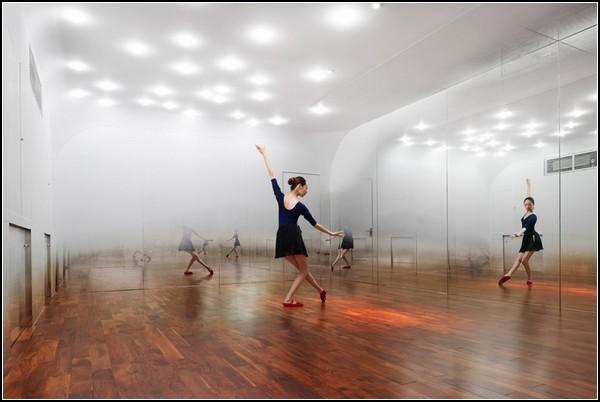 Туманная студия для Anzas Dance Studio